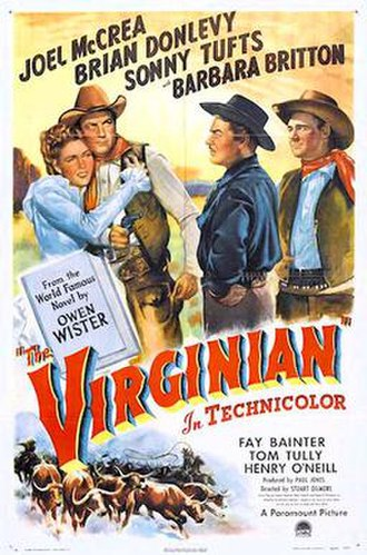 The Virginian (1946 film) - Theatrical release poster