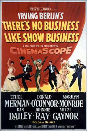 There's No Business Like Show Business (film) - Theatrical release poster