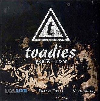 Rock Show (album) - Image: Toadiesrockshow