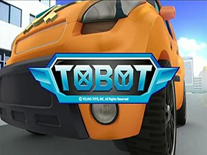 Tobot - Opening title card for the English dub of Tobot