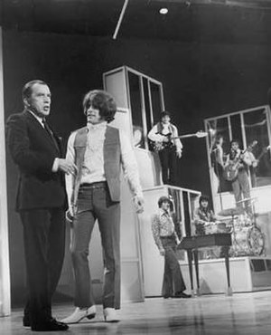 Crimson and Clover - Tommy James and the Shondells on The Ed Sullivan Show in 1969, one day before their single reached number one.