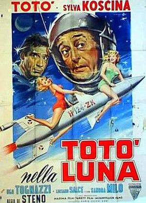 Toto in the Moon - Image: Totò nella luna