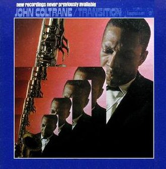 Transition (John Coltrane album) - Image: Transition (John Coltrane album)