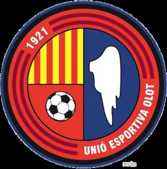 UE Olot - Image: UE Olot logo