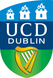 University College Dublin university located in Dublin, Ireland