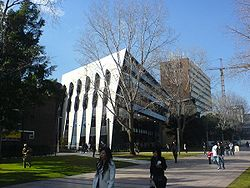 The new law building