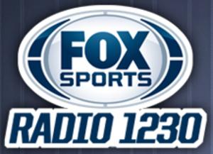 WBET (AM) - Image: WBET Fox Sports Radio 1230 logo