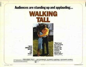 Walking Tall (1973 film) - Theatrical release poster