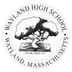 Wayland High School - Wayland High School logo.