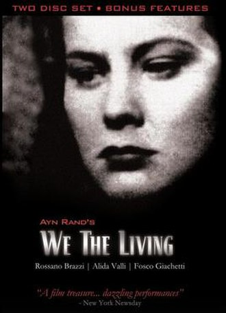 We the Living (film) - DVD cover