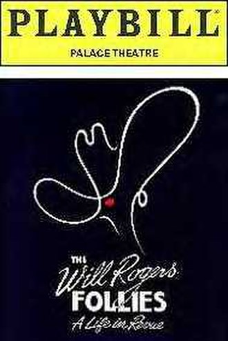 The Will Rogers Follies - Original Broadway Playbill