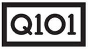 WKQX (FM) - Q101 logo used for much of the station's existence as an alternative format