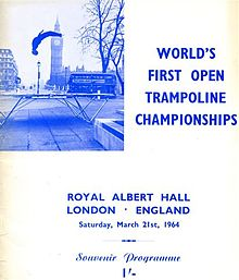 Trampolining - Wikipedia, the free encyclopedia