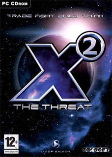 <i>X2: The Threat</i> 2003 space trading and combat video game