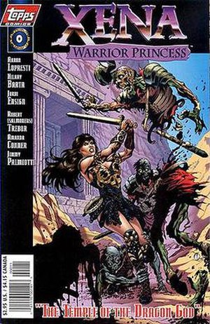 Xena: Warrior Princess (comics) - Image: Xena Warrior Princess 1