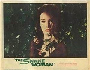 The Snake Woman - Original lobby card