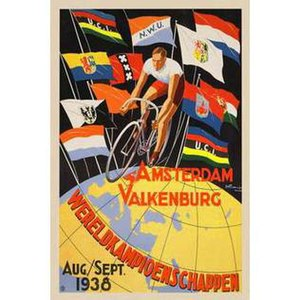 1938 UCI Road World Championships - Image: 1938 UCI Road World Championships poster