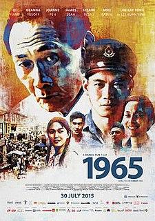 <i>1965</i> (film) 2015 Singaporean thriller/period film directed by Daniel Yun