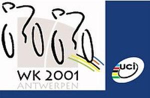2001 UCI Track Cycling World Championships - Image: 2001 UCI Track Cycling World Championships logo