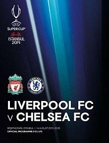Calendario Chelsea 2020.2019 Uefa Super Cup Wikipedia