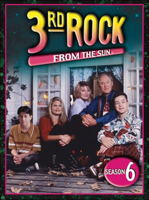 3rd Rock from the Sun (season 6) - DVD cover