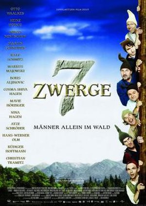 7 Dwarves – Men Alone in the Wood - German theatrical poster