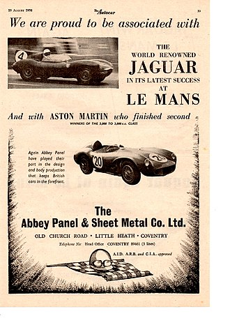 Abbey Panels - Image: AP Autocar 2