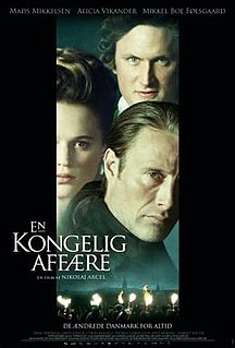 <i>A Royal Affair</i> 2012 film by Nikolaj Arcel
