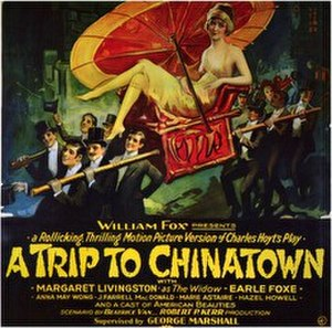 A Trip to Chinatown (film) - 1926 theatrical poster