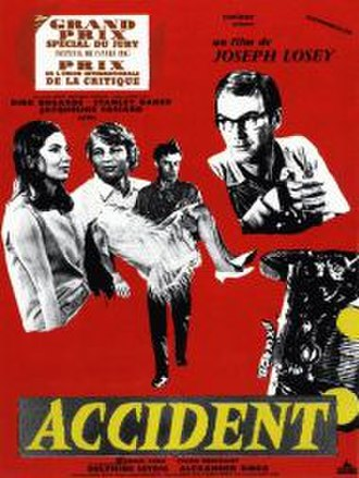 Accident (1967 film) - Image: Accident movie poster