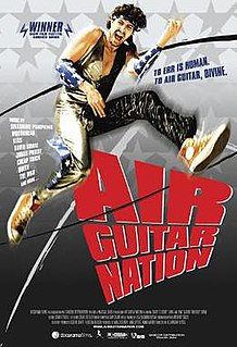 <i>Air Guitar Nation</i> 2006 documentary about the first US Air Guitar Championships