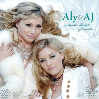 Acoustic Hearts of Winter - Image: Aly & AJ Acoustic Hearts of Winter