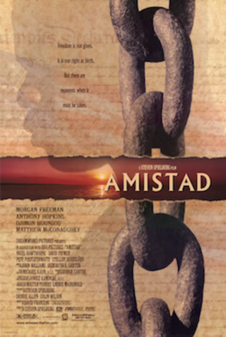 Amistad (film) - Theatrical release poster