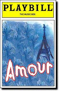 <i>Amour</i> (musical) musical
