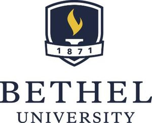 Bethel University (Minnesota) - Image: Bethel University Logo Updated November