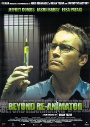 Beyond Re-Animator - Theatrical release poster