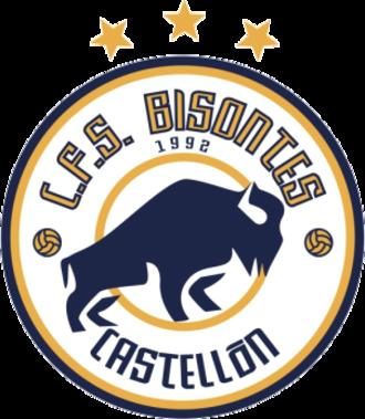 CFS Bisontes Castellón - Image: Bisontes Castellón