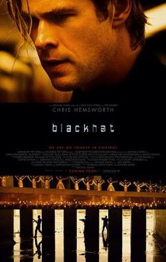 Blackhat (film) - Theatrical release poster