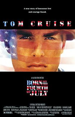 Born on the Fourth of July (film) - Theatrical release poster