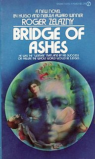 <i>Bridge of Ashes</i> book by Roger Zelazny