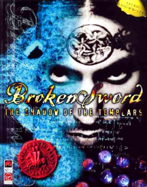 Broken Sword: The Shadow of the Templars - European PC version box art
