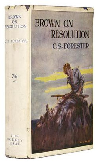 Brown on Resolution - First edition cover (Bodley Head)