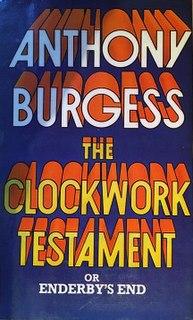 <i>The Clockwork Testament, or Enderbys End</i>