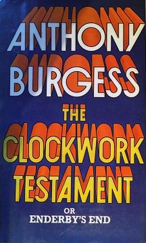 The Clockwork Testament, or Enderby's End - Image: Burgessct