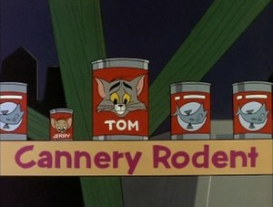 Cannery Rodent - Title card of Cannery Rodent