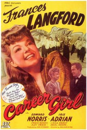Career Girl (1944 film) - Original film poster