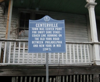 Centerville, Hunterdon County, New Jersey Unincorporated community in New Jersey, United States