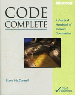 Code Complete - First edition cover