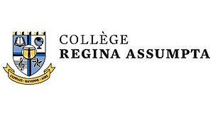 Collège Regina Assumpta - Image: College Regina Assumpta logo (with name)