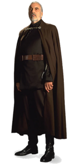 Count Dooku Fictional character in Star Wars
